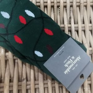 NWT Abercrombie and fitch high socks